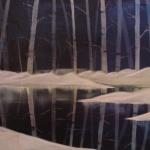 Snow Birches (l)