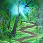 Forest Sunlight (m)