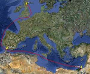 14 days of sailing
