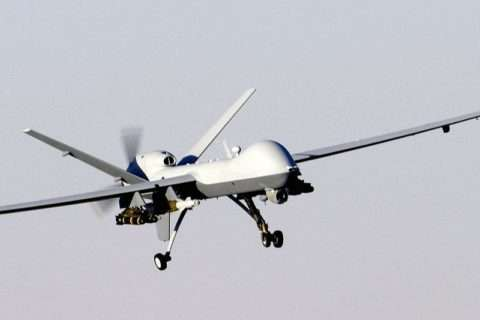 MQ-9 Reaper in flight