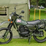 Army Motor Cycle