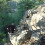 Climbing down our mountain