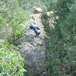 Melisas new big rock