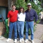 Drew, Kim and Sid