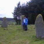 Chaz at Old Deer Stone Circle