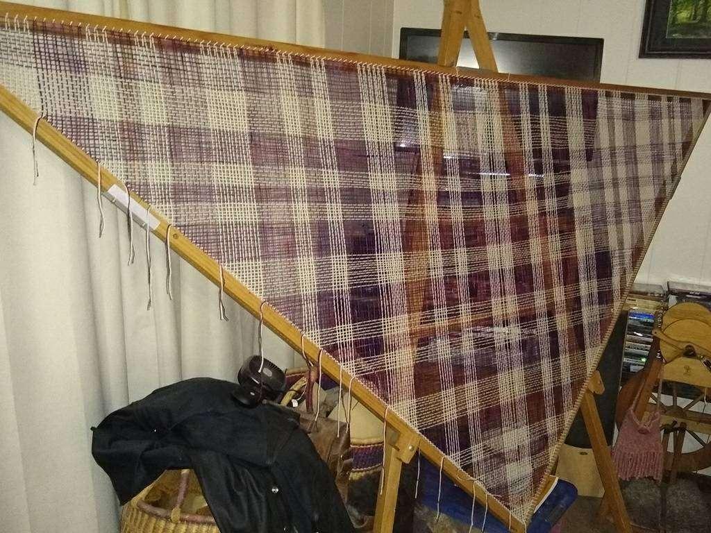 Charlie gets Weaving